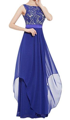 h and m blue lace dress - 1
