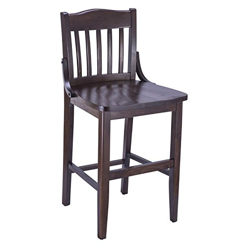 (Beechwood Mountain Schoolhouse Counter Stool in Walnut)