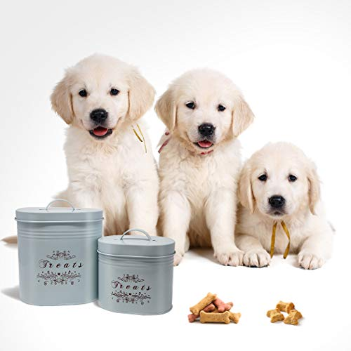 One for Pets Treat Canister Set - Pet Treats Jar Set