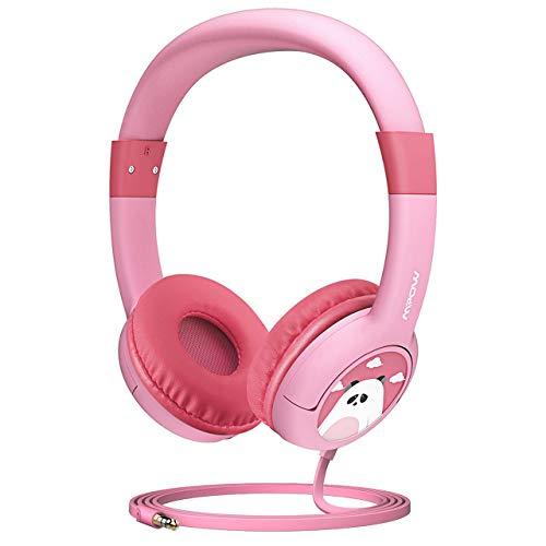 Mpow Kids Headphones, CH1 Wired Headphones Children On Ear, Friendly Safe Food...