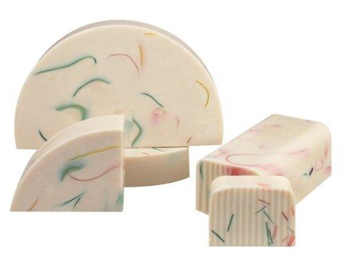 Shea Butter Vanilla Bulk Soap Loaf- (80 oz = 5 Pounds) Brand: Hugo Naturals ()