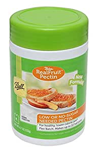 Ball Real Fruit, Low or No-Sugar-Needed Pectin 4.7 oz. (Pack of 1)