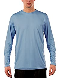 Men's UPF 50+ Sun Protection Performance Long Sleeve T-Shirt