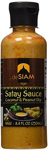 (deSIAM Thai Sauce, Peanut & Coconut, 8.4)