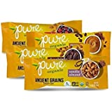 Pure Organic Ancient Grains Variety Pack, 1.23 ounce bars (Pack of 12)