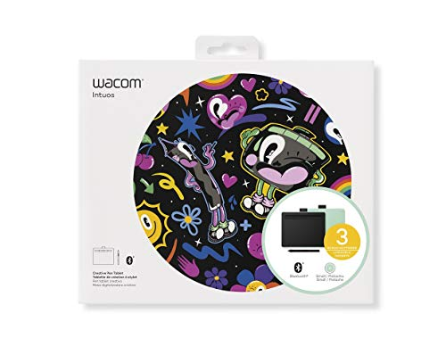 Used, Wacom Intuos Wireless Graphic Tablet with 3 Bonus Software for sale  Delivered anywhere in Canada