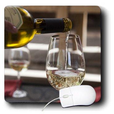 3dRose LLC 8 x 8 x 0.25 Inches Argentina Mendoza White Wine Altus Vineyards Jaynes Gallery Mouse Pad (mp_90272_1)