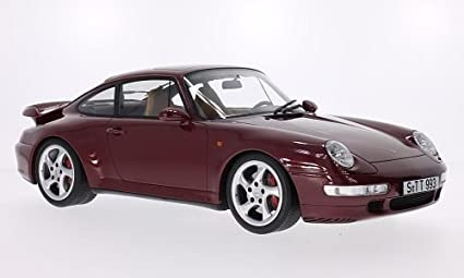 Porsche 911 (993) Turbo, metallic-dark red, 1995, Model Car