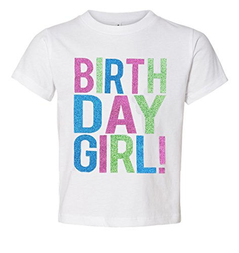 Birthday Girl Toddler Kids T-Shirt White Youth Small