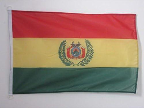 AZ FLAG Bandera de Bolivia 90x60cm Uso Exterior - Bandera ...