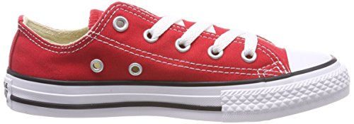 White Converse mixte Rouge Ox Red enfant mode Ctas Season Baskets 7wO7rz6q