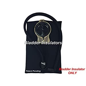 Bladder Insulators for Camelbak Hydration Pack Water Bladder Reservoirs (Black, 100oz / 3.0L)