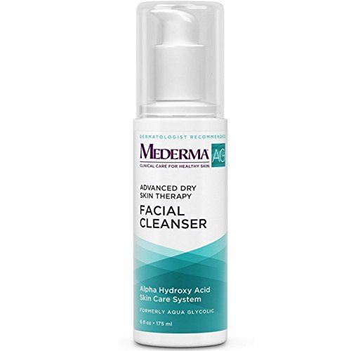 Mederma (Aqua Glycolic) Advanced Dry Skin Therapy Facial Cleanser 6 oz