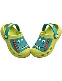 Kids Boys Girls Dinosaur Clogs Slippers Toddler Slip On Lightweight Beach Pool Sandals