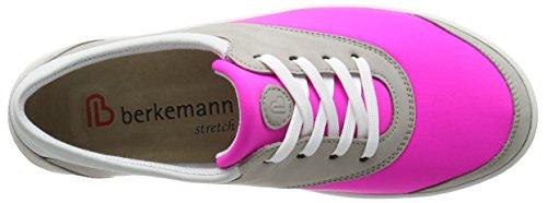 Berkemann Alita - zapatos con cordones de cuero mujer Varios Colores - Mehrfarbig (268 grau/pink)