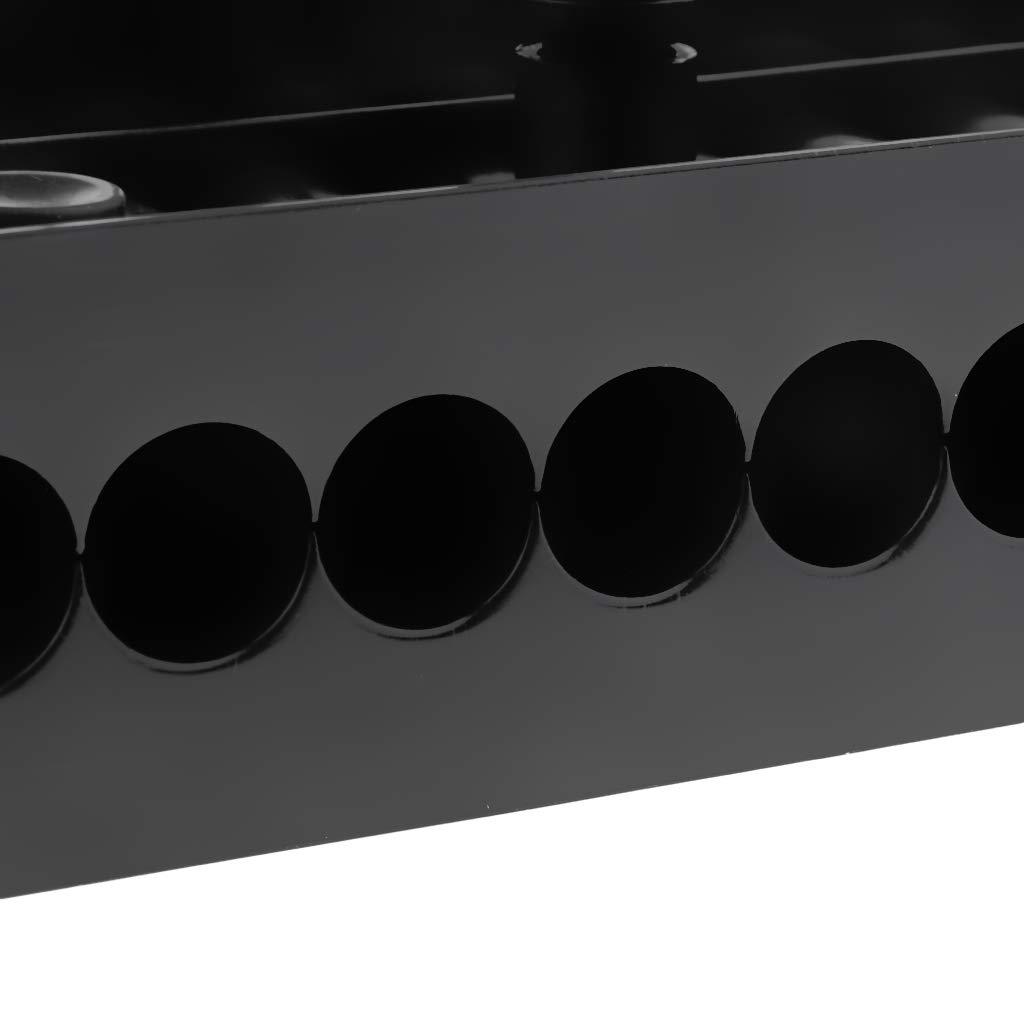 Heckschutzplatte Innen für Aussenbordmotoren 230x85mm Spiegelschutz Verstärkung