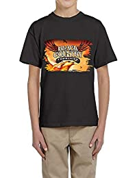 Boys Or Girls Black Country Communion Particular Short Sleeve T Shirt Youth Sports Shirt
