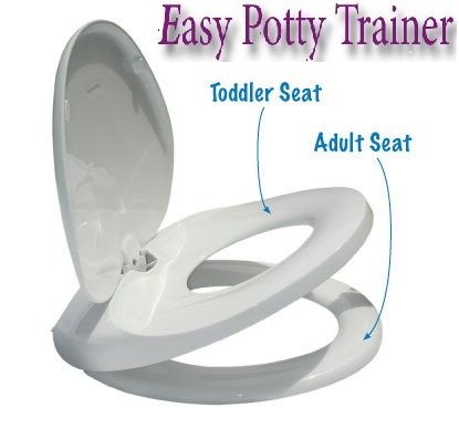 easy home toilet seat. Easy Potty Trainer  Integrated Adult Child Toilet Seat Fits Round Toilets Slow