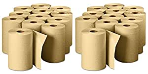 "Georgia Pacific Professional 26401 Non-Perforated Paper Towel Rolls, 7-7/8"" x 350', Brown (Pack of 12), 2 Case"