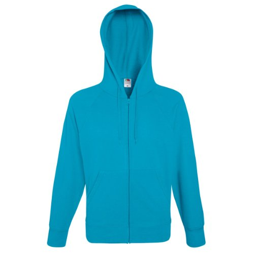 of the Loom sudadera Fruit Azul Hombre Hooded Celeste d1Rwfqx