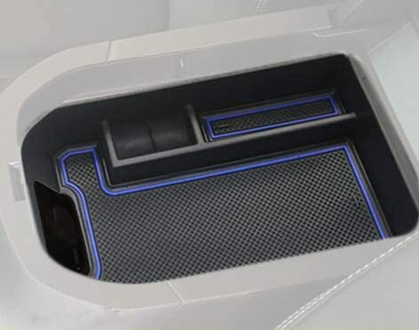 kaungka Car Glove Box Car Center Console Tray Armrest Storage Box Organizer for 2019 2020 Toyota Rav4