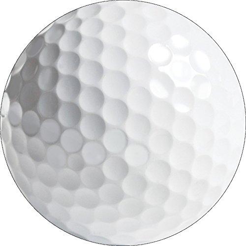 Creative Converting 897965 Sports Fanatic Golf Postcard Party Invitation, 5 x 8.5-Inches, White