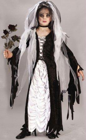 [Bride of Darkness Costume - Medium] (Gothic Ballerina Halloween Costumes)