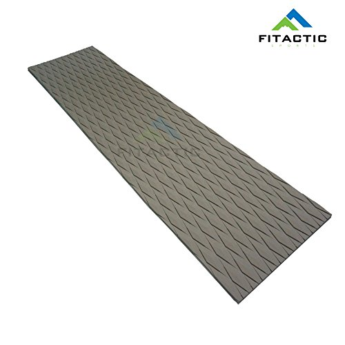 FITactic Universal [34in x 9in] DIY Traction Non-Slip Grip Mat Pad, Versatile & Trimmable Sheet of EVA for SUP, Boat Decks, Kayaks, Surfboards, Standup Paddle Boards, Skimboards & More (Deck Traction)