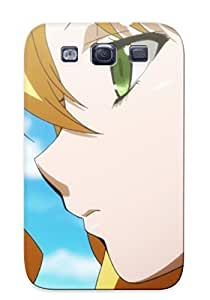 Case For Galaxy S3 Tpu Phone Case Cover(screenshots Anime Tv Series Makenki Himegami Kodama ) For Thanksgiving Day's Gift