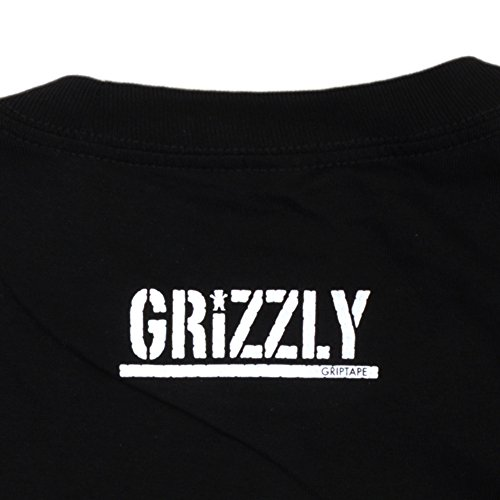 Grizzly Seed Stamp Black T-Shirt
