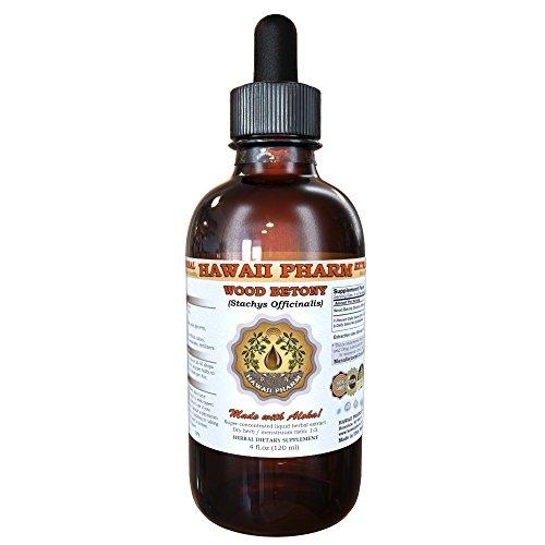(Wood Betony Liquid Extract, Organic Stachys Officinalis (Stachys Officinalis) Tincture 4 oz)