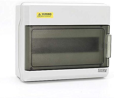 Caja de interruptores de PC IP66 de 12 vías caja de distribución a prueba de agua caja de disyuntores: Amazon.es: Industria, empresas y ciencia