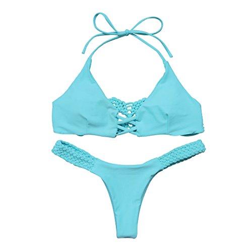 RUUHEE Brazilian Braided Swimsuit Swimwear