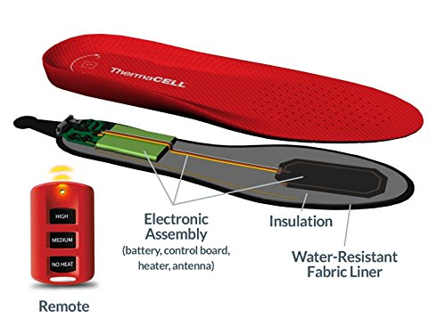Thermacell Rechargeable Heated Insole X large Buy