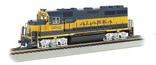 Train Engine Sounds (Bachmann Industries EMD GP40 DCC Alaska #3002 Sound Value Equipped Locomotive (HO Scale))