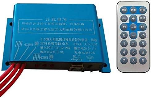 HDJ リモコン付き林11.1V 10Aリチウム電池ソーラー街路灯コントローラ