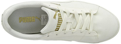 Puma Civilian Canvas 35807401, Unisex-Erwachsene Low-Top Sneaker Weiß (Whisper White/Whisper White)