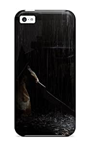 Iphone 5c Pyramid Head Back Alley Print High Quality Tpu Gel Frame Case Cover