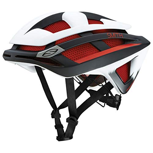 Smith Optics Overtake Adult MTB Cycling Helmet - Matte Red Max/Small