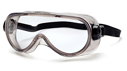 Pyramex G304TN Anti-Fog Top Shelf Chemical Splash Goggle with Neoprene Strap, Clear