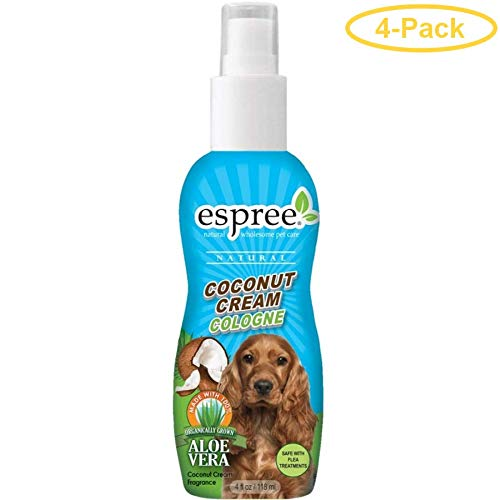 Espree Coconut Cream Cologne 4 oz - Pack of 4