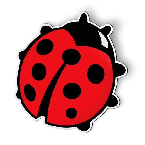 AK Wall Art Ladybug Cute - Magnet - Car Fridge Locker - Select Size
