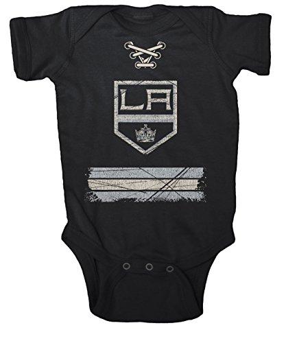 NHL Los Angeles Kings Beeler Vintage Infant Jersey Creeper, 6-Months, Black