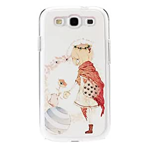 xiao Skirt Pattern Hard Case with Rhinestone for Samsung Galaxy S3 I9300