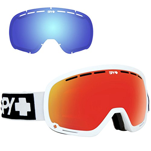 Spy Optic Marshall Snow Goggles | Ski, Snowboard or Snowmobile Goggle | Two Lenses with Patented Happy Lens Tech from Spy