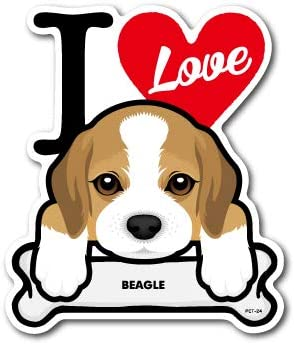 Amazon Co Jp Pet 024 Beagle ビーグル Dog Sticker ドッグ