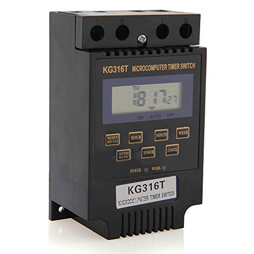 KG316T LCD Digital Display Microcomputer Time Switch Timer Controller DC/AC12V