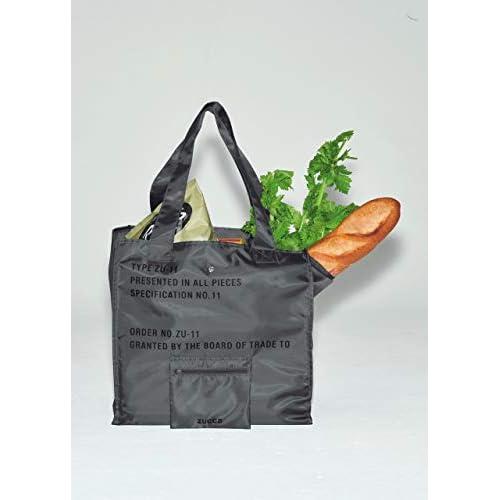 ZUCCa Shopping Bag Book - Gray 付録