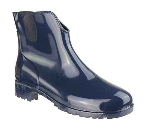 Cotswold Slip-On Self-Lined Wellingtons - Navy - Size 3 4 5 6 7 8 Navy