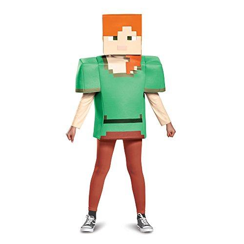 Alex Classic Minecraft Costume, Multicolor, Small (4-6)